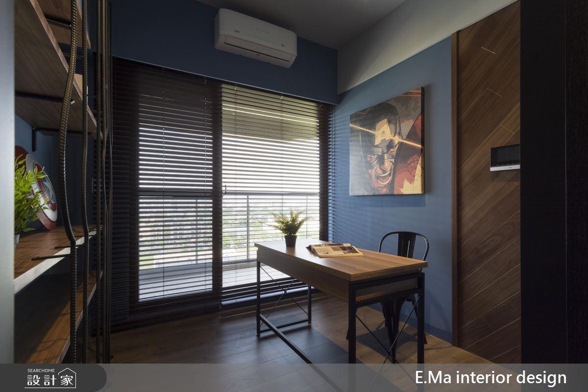 32坪新成屋(5年以下)_工業風書房案例圖片_艾馬室內裝修設計_艾馬_18之3