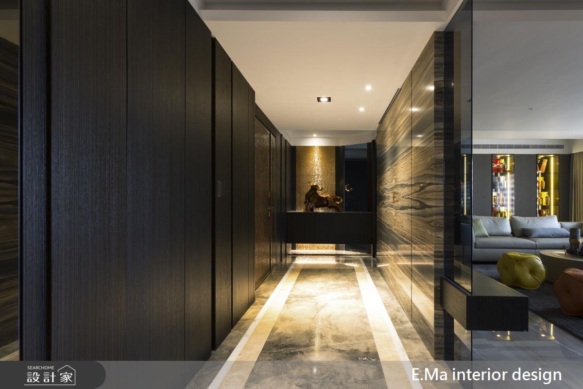 100坪新成屋(5年以下)_奢華風玄關案例圖片_艾馬室內裝修設計_艾馬_19之1