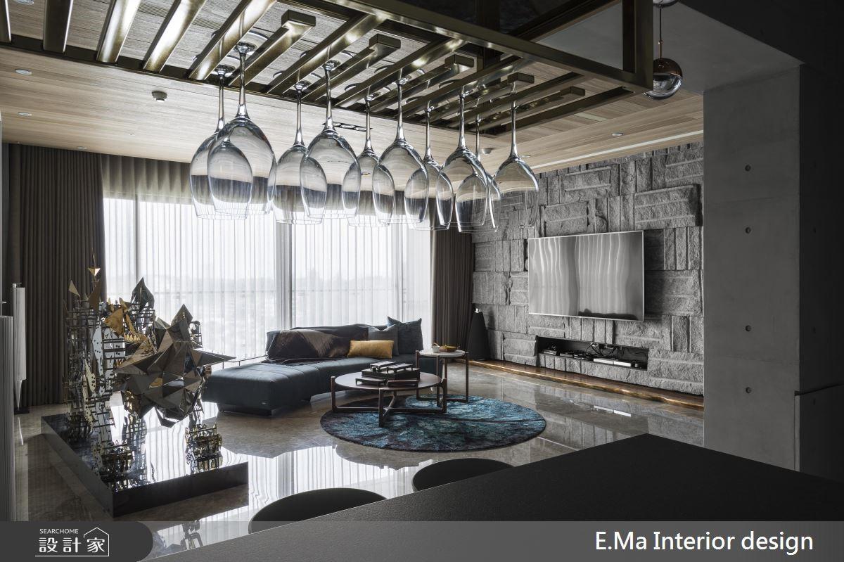 56坪新成屋(5年以下)_奢華風玄關案例圖片_艾馬室內裝修設計_艾馬_22之2