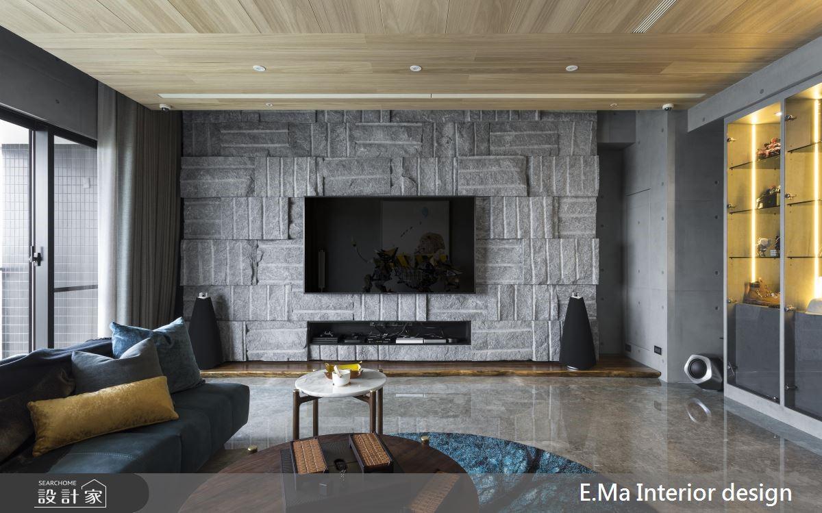 56坪新成屋(5年以下)_奢華風客廳案例圖片_艾馬室內裝修設計_艾馬_22之3