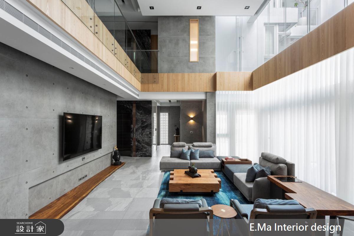 224坪新成屋(5年以下)_現代風客廳案例圖片_艾馬室內裝修設計_艾馬_23之4