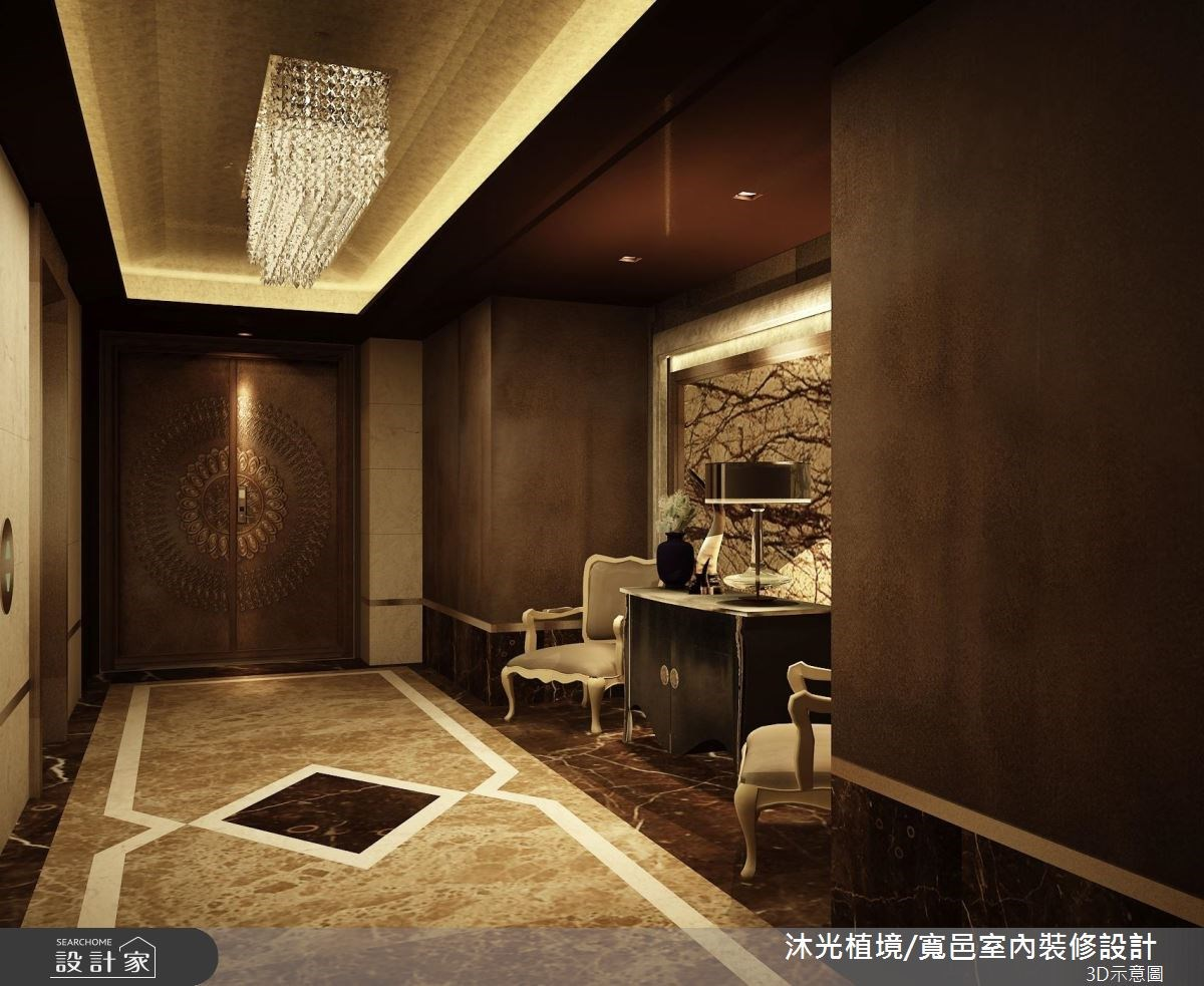 150坪新成屋(5年以下)_奢華風案例圖片_沐光植境設計事業_沐光植境_05之1