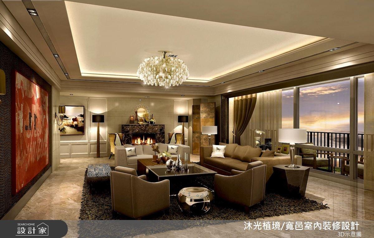 150坪新成屋(5年以下)_奢華風案例圖片_沐光植境設計事業_沐光植境_05之2