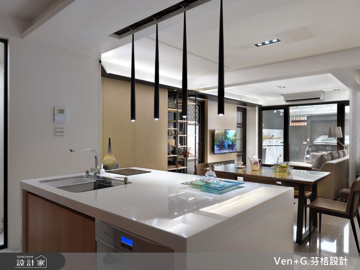 40坪老屋(16~30年)_簡約風廚房案例圖片_芬格空間設計事務所_芬格_02之5