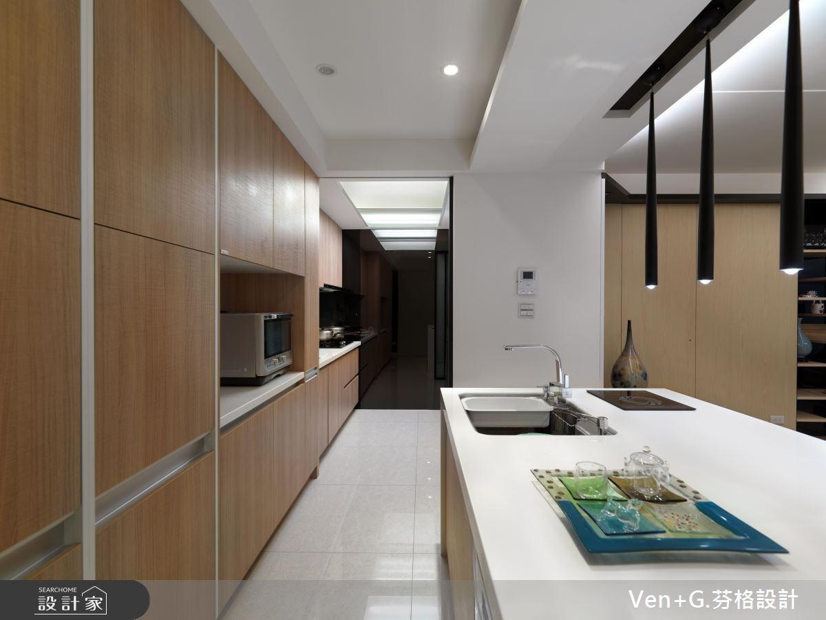40坪老屋(16~30年)_簡約風廚房案例圖片_芬格空間設計事務所_芬格_02之6