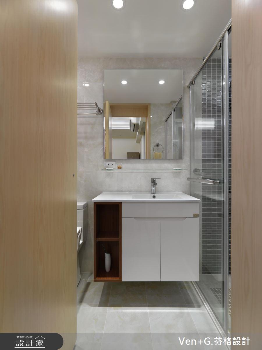 40坪老屋(16~30年)_簡約風臥室案例圖片_芬格空間設計事務所_芬格_02之8