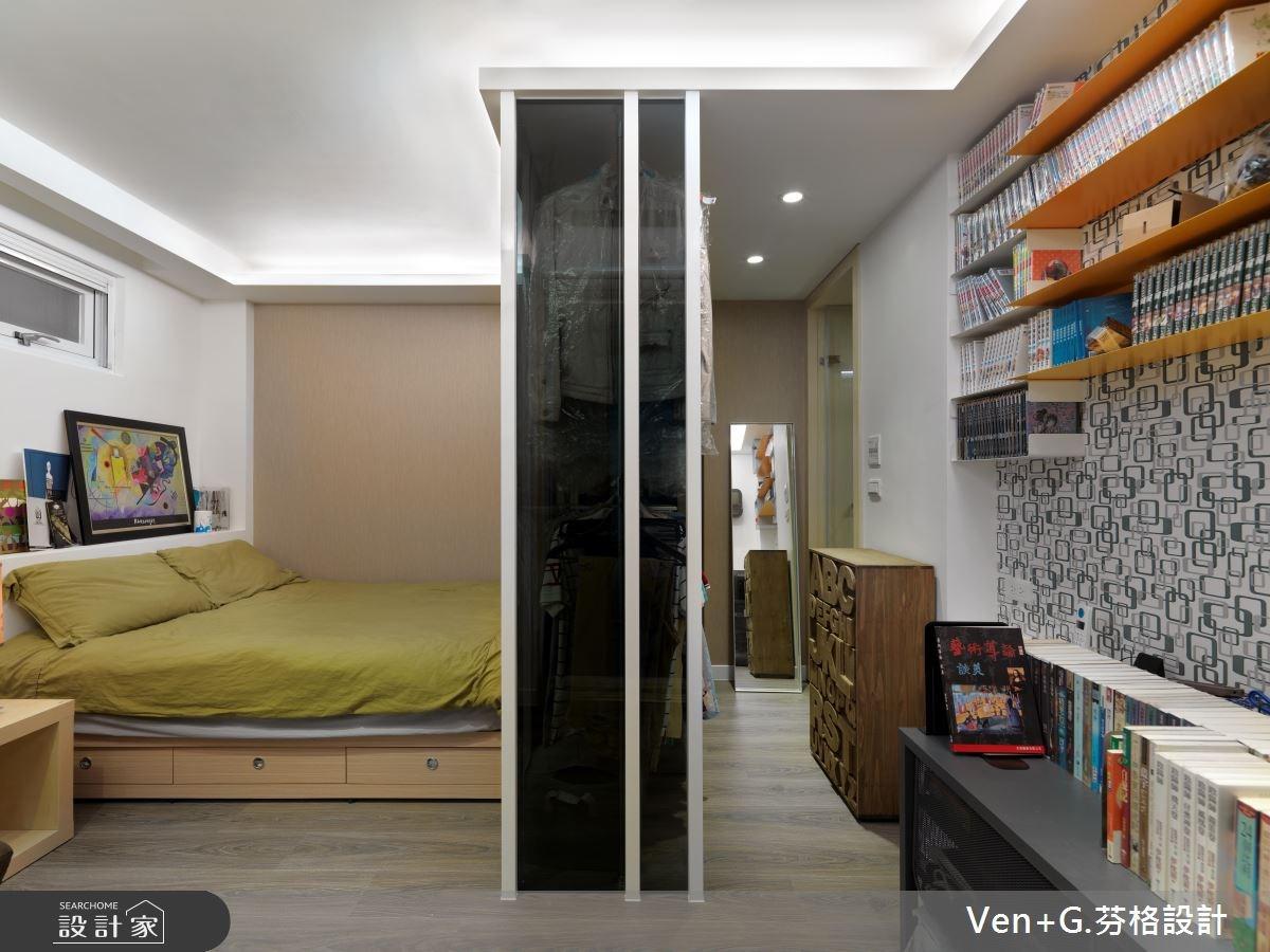 40坪老屋(16~30年)_簡約風臥室案例圖片_芬格空間設計事務所_芬格_02之10