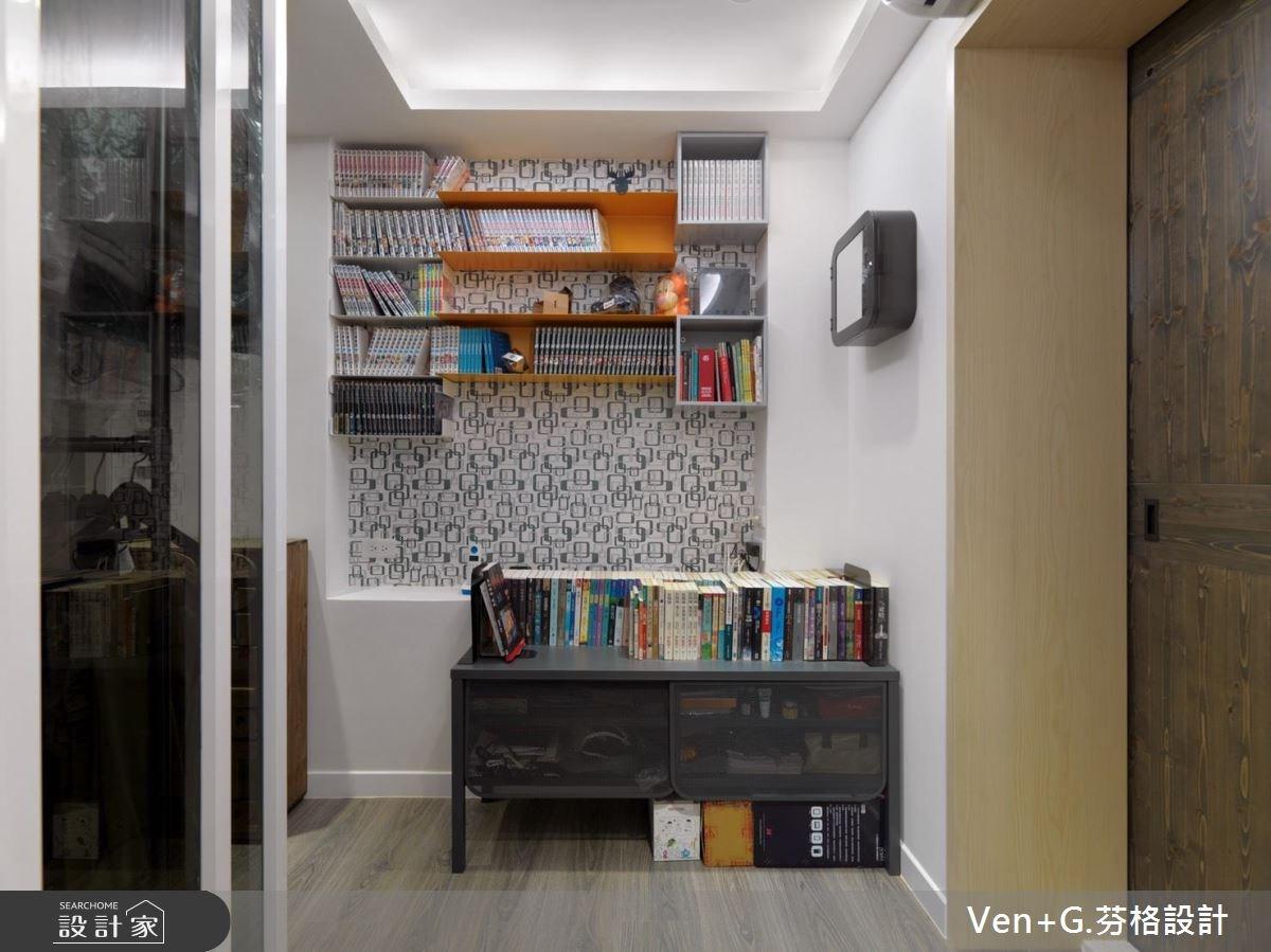 40坪老屋(16~30年)_簡約風臥室案例圖片_芬格空間設計事務所_芬格_02之11