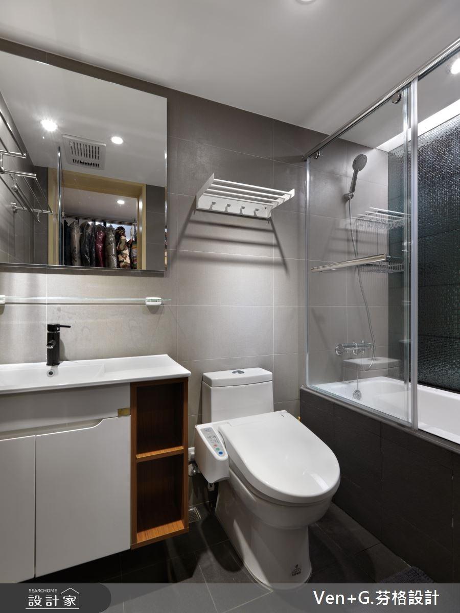 40坪老屋(16~30年)_簡約風臥室案例圖片_芬格空間設計事務所_芬格_02之12
