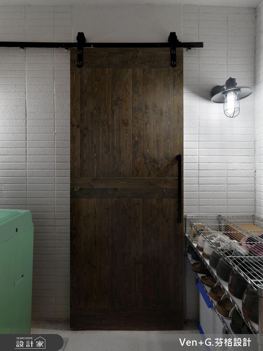 40坪老屋(16~30年)_簡約風玄關案例圖片_芬格空間設計事務所_芬格_02之13