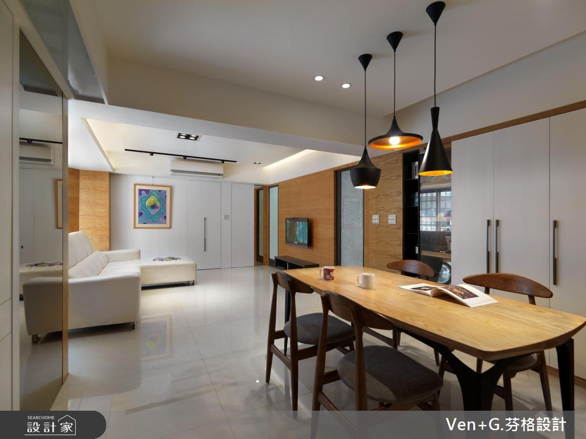 30坪老屋(16~30年)_簡約風餐廳案例圖片_芬格空間設計事務所_芬格_03之5