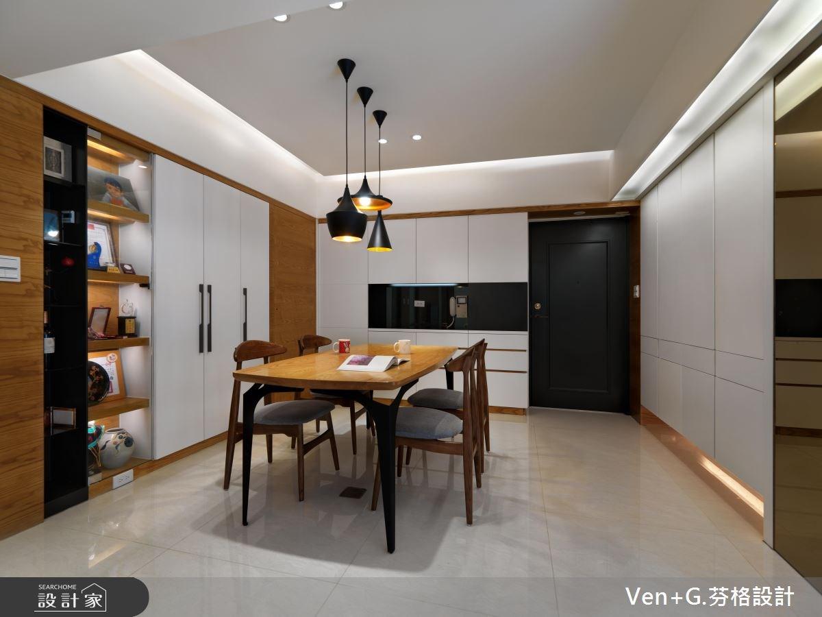 30坪老屋(16~30年)_簡約風餐廳案例圖片_芬格空間設計事務所_芬格_03之7