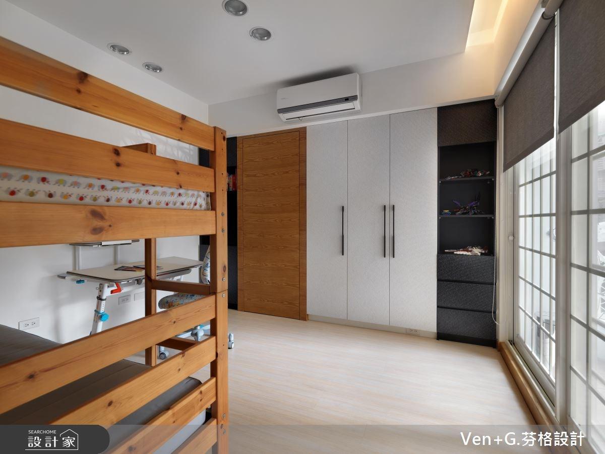 30坪老屋(16~30年)_簡約風臥室案例圖片_芬格空間設計事務所_芬格_03之11