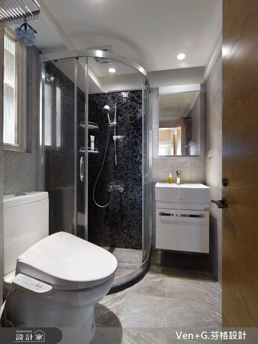 30坪老屋(16~30年)_簡約風浴室案例圖片_芬格空間設計事務所_芬格_03之13