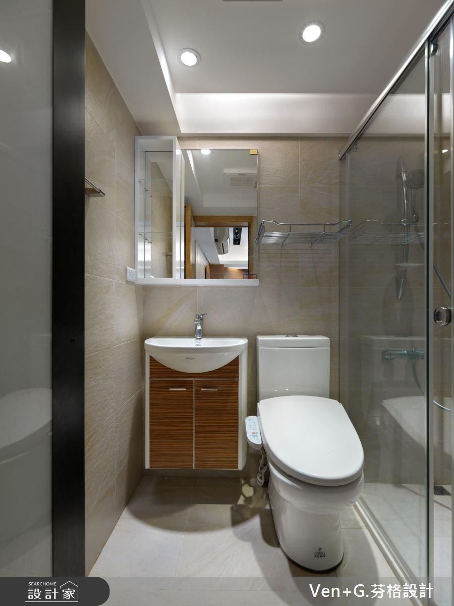 30坪老屋(16~30年)_簡約風浴室案例圖片_芬格空間設計事務所_芬格_03之14