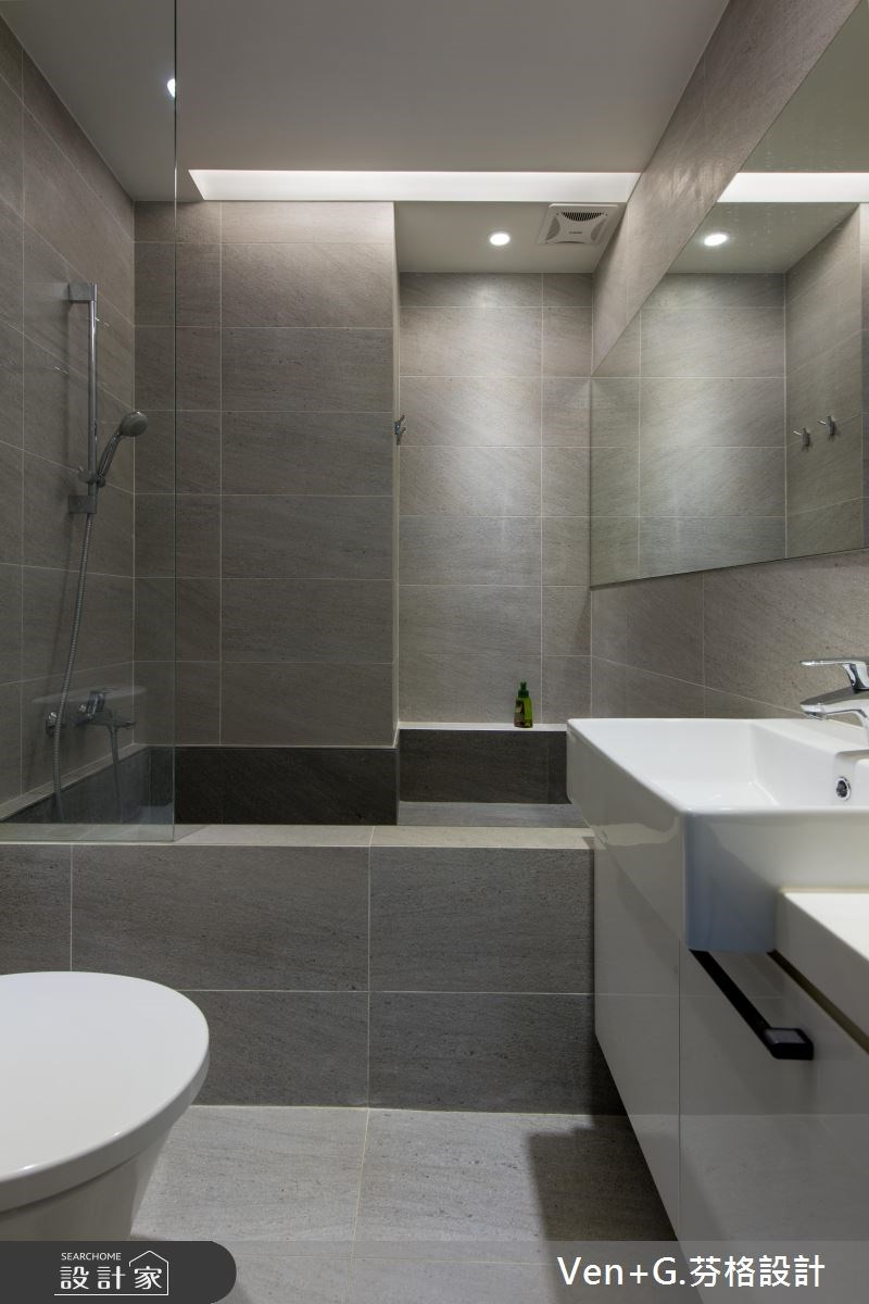 20坪新成屋(5年以下)_北歐風浴室案例圖片_芬格空間設計事務所_芬格_04之12