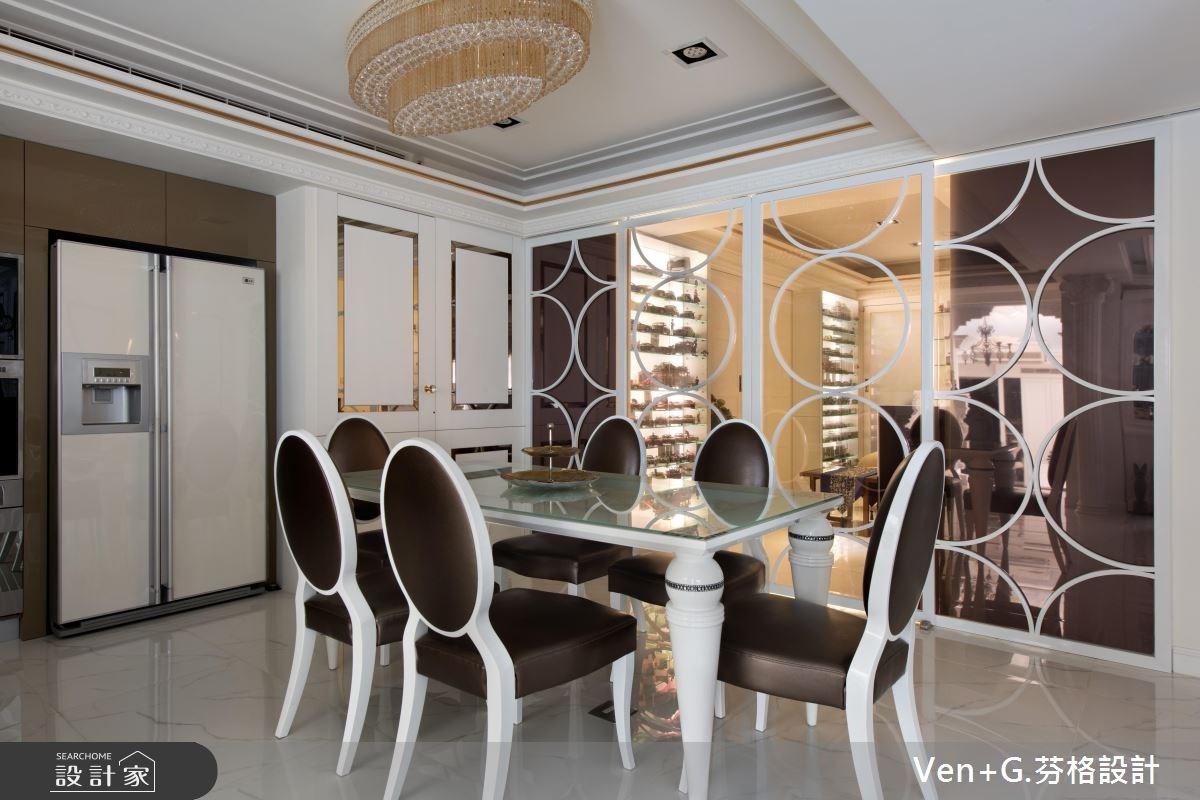 40坪老屋(16~30年)_新古典餐廳案例圖片_芬格空間設計事務所_芬格_05之4