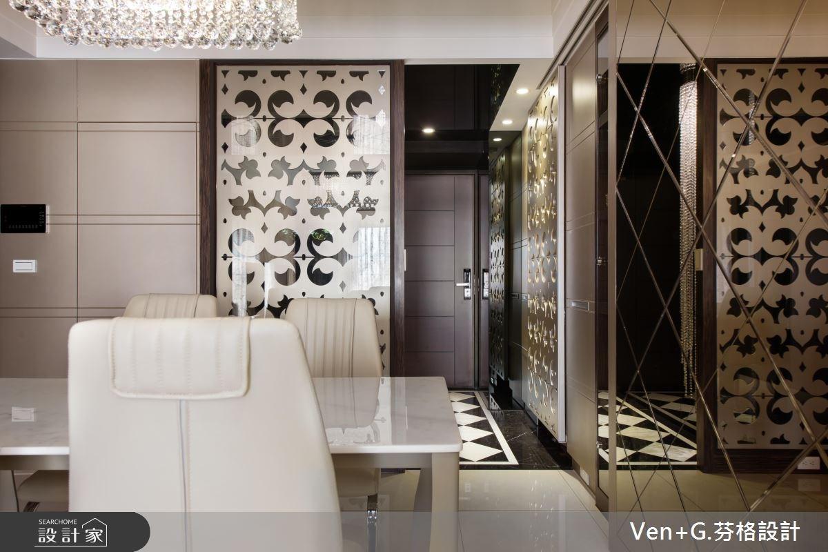 23坪新成屋(5年以下)_奢華風餐廳案例圖片_芬格空間設計事務所_芬格_07之3