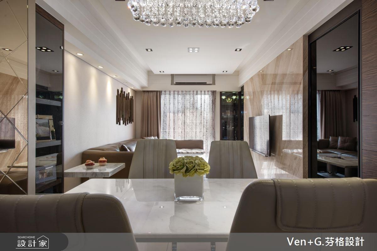 23坪新成屋(5年以下)_奢華風餐廳案例圖片_芬格空間設計事務所_芬格_07之7