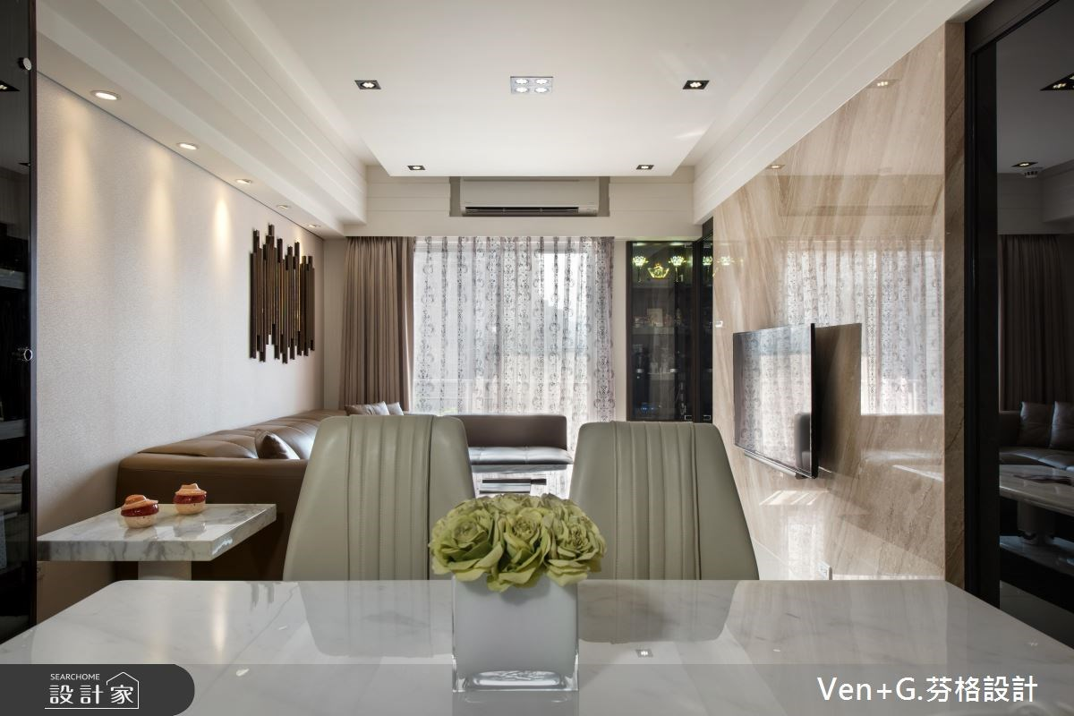 23坪新成屋(5年以下)_奢華風餐廳案例圖片_芬格空間設計事務所_芬格_07之8