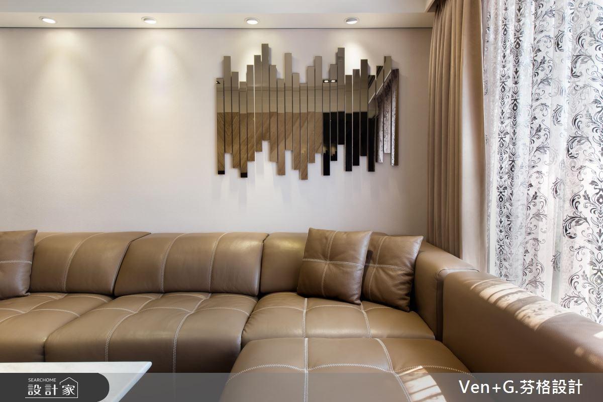 23坪新成屋(5年以下)_奢華風客廳案例圖片_芬格空間設計事務所_芬格_07之9