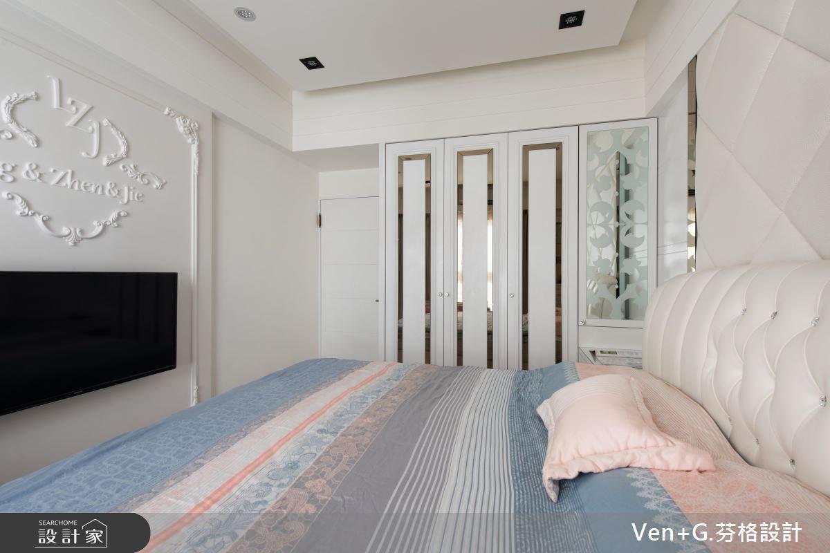 23坪新成屋(5年以下)_奢華風臥室案例圖片_芬格空間設計事務所_芬格_07之11