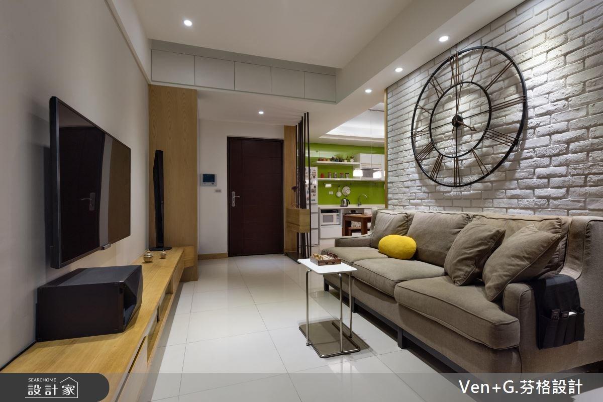 23坪新成屋(5年以下)_北歐風客廳案例圖片_芬格空間設計事務所_芬格_08之1