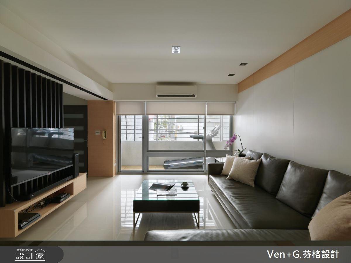 36坪老屋(16~30年)_簡約風客廳案例圖片_芬格空間設計事務所_芬格_09之2