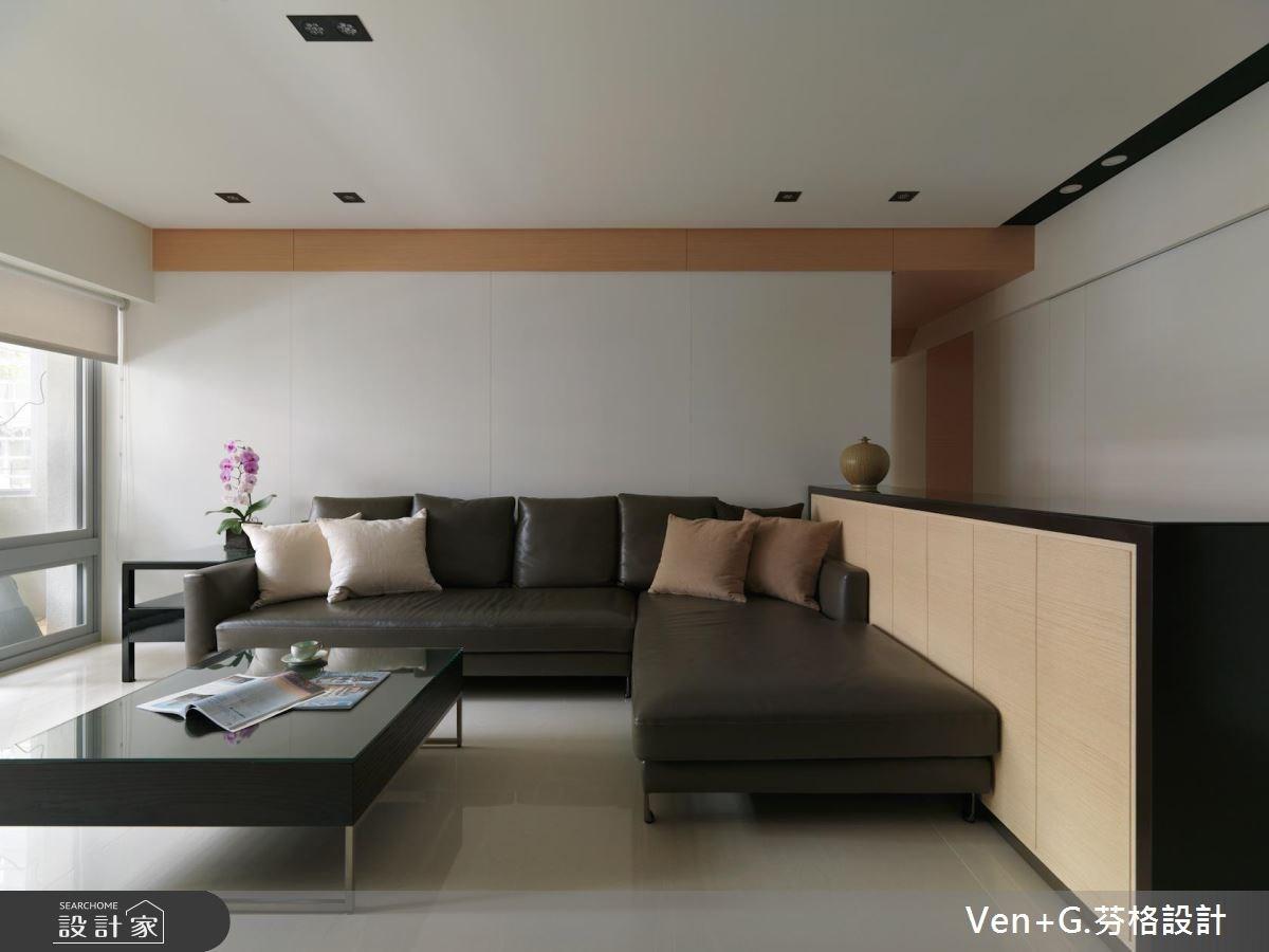 36坪老屋(16~30年)_簡約風客廳案例圖片_芬格空間設計事務所_芬格_09之4
