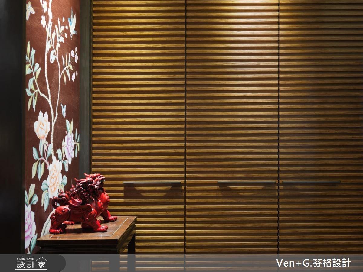 50坪新成屋(5年以下)_新中式風玄關案例圖片_芬格空間設計事務所_芬格_11之2