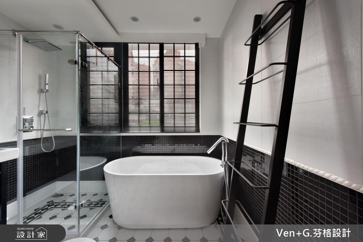 18坪老屋(16~30年)_工業風浴室案例圖片_芬格空間設計事務所_芬格_12之13