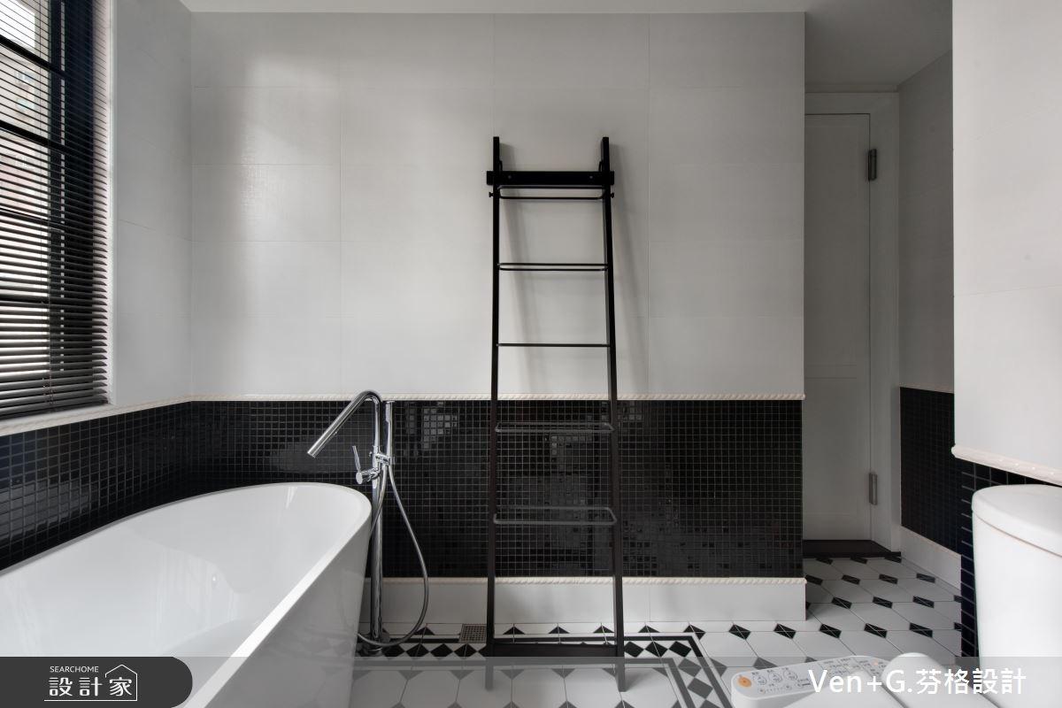 18坪老屋(16~30年)_工業風浴室案例圖片_芬格空間設計事務所_芬格_12之14