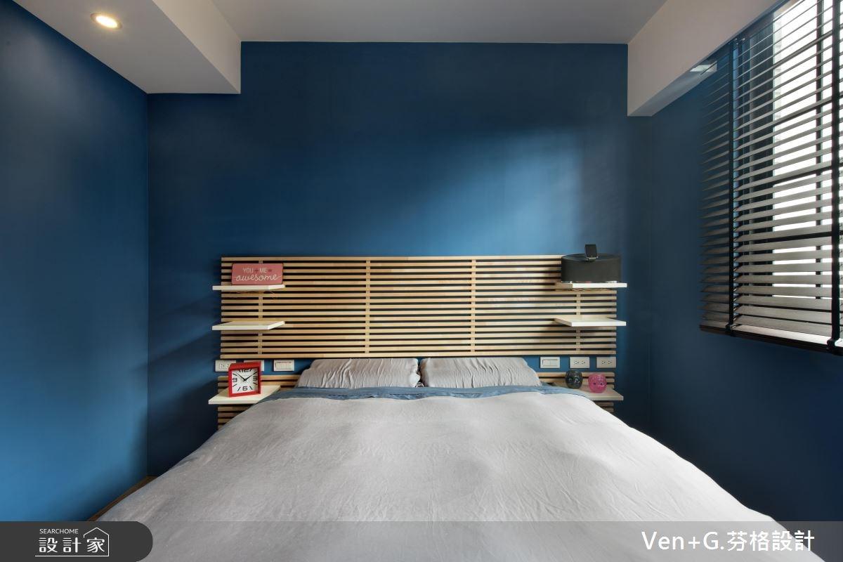 18坪老屋(16~30年)_工業風臥室案例圖片_芬格空間設計事務所_芬格_12之15