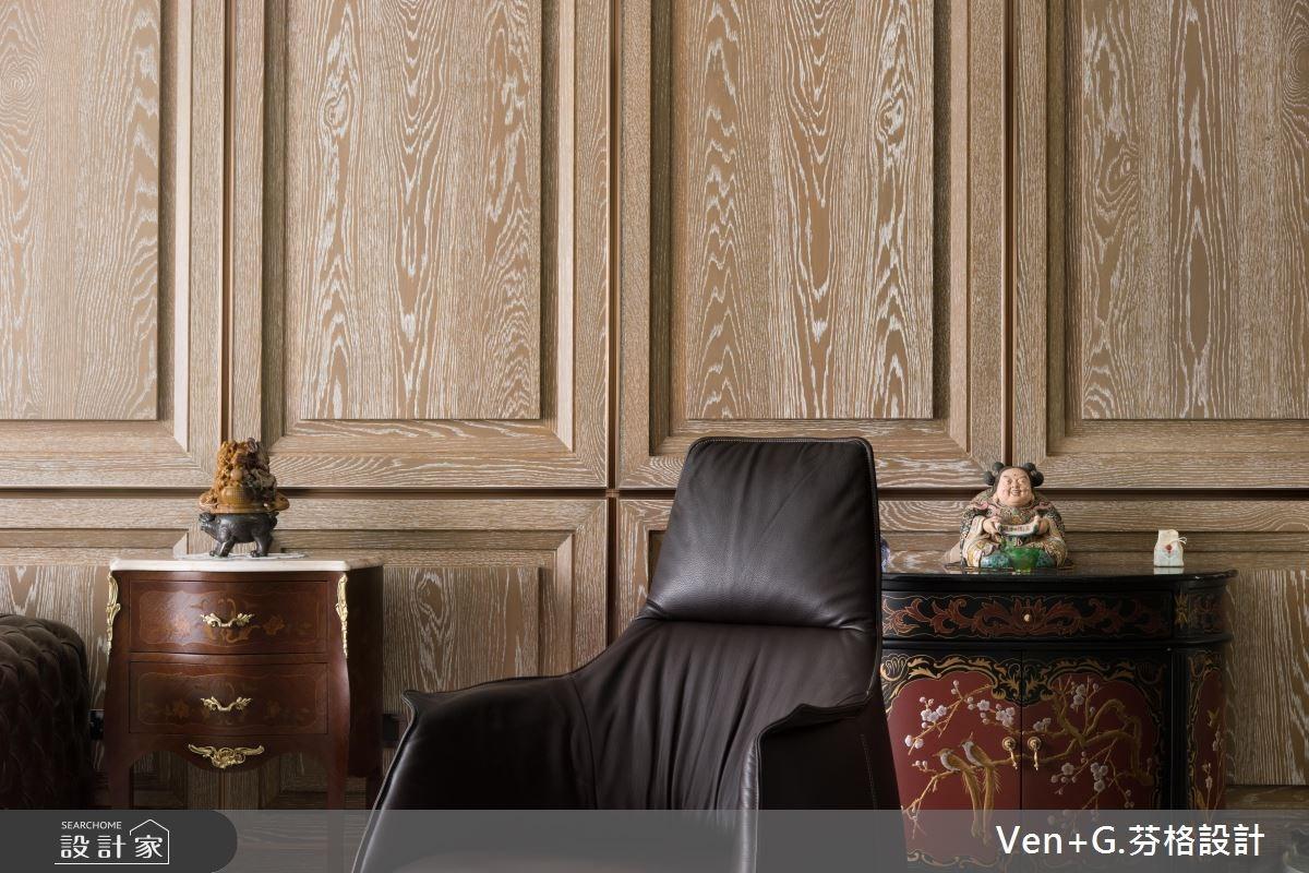50坪新成屋(5年以下)_新古典客廳案例圖片_芬格空間設計事務所_芬格_13之4