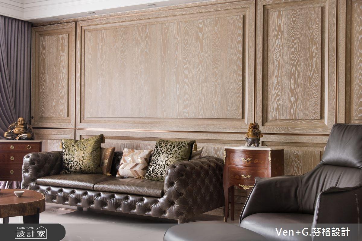 50坪新成屋(5年以下)_新古典客廳案例圖片_芬格空間設計事務所_芬格_13之5