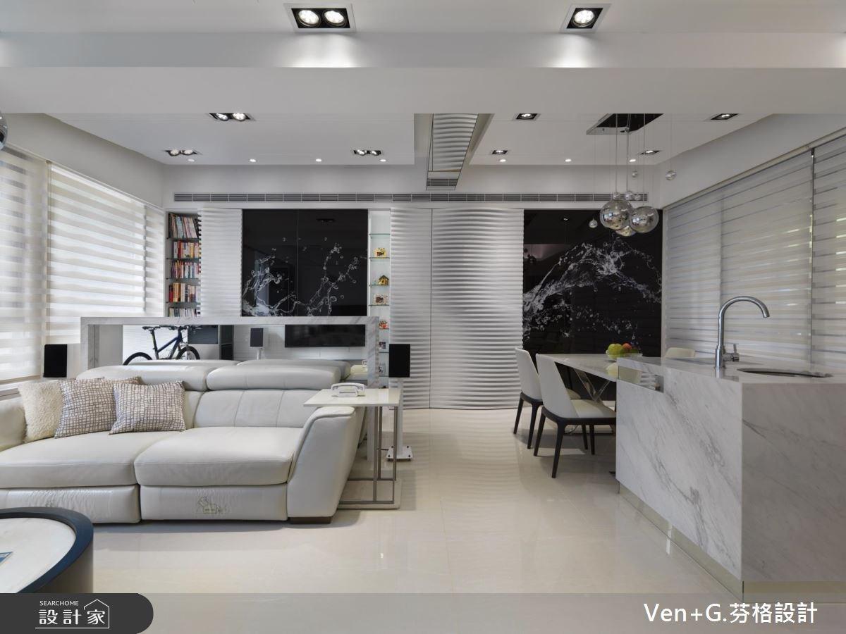 30坪新成屋(5年以下)_現代風客廳案例圖片_芬格空間設計事務所_芬格_15之1