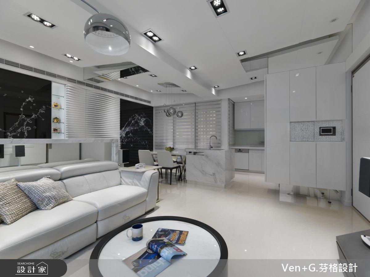30坪新成屋(5年以下)_現代風客廳案例圖片_芬格空間設計事務所_芬格_15之2