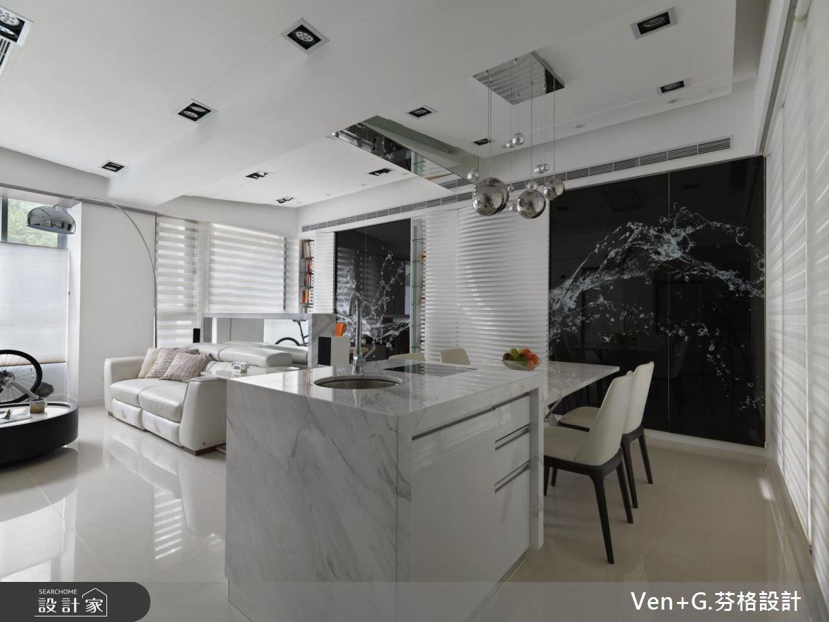 30坪新成屋(5年以下)_現代風餐廳案例圖片_芬格空間設計事務所_芬格_15之4