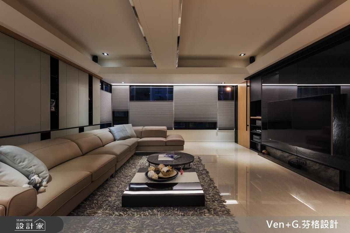 60坪老屋(16~30年)_現代風客廳案例圖片_芬格空間設計事務所_芬格_16之2