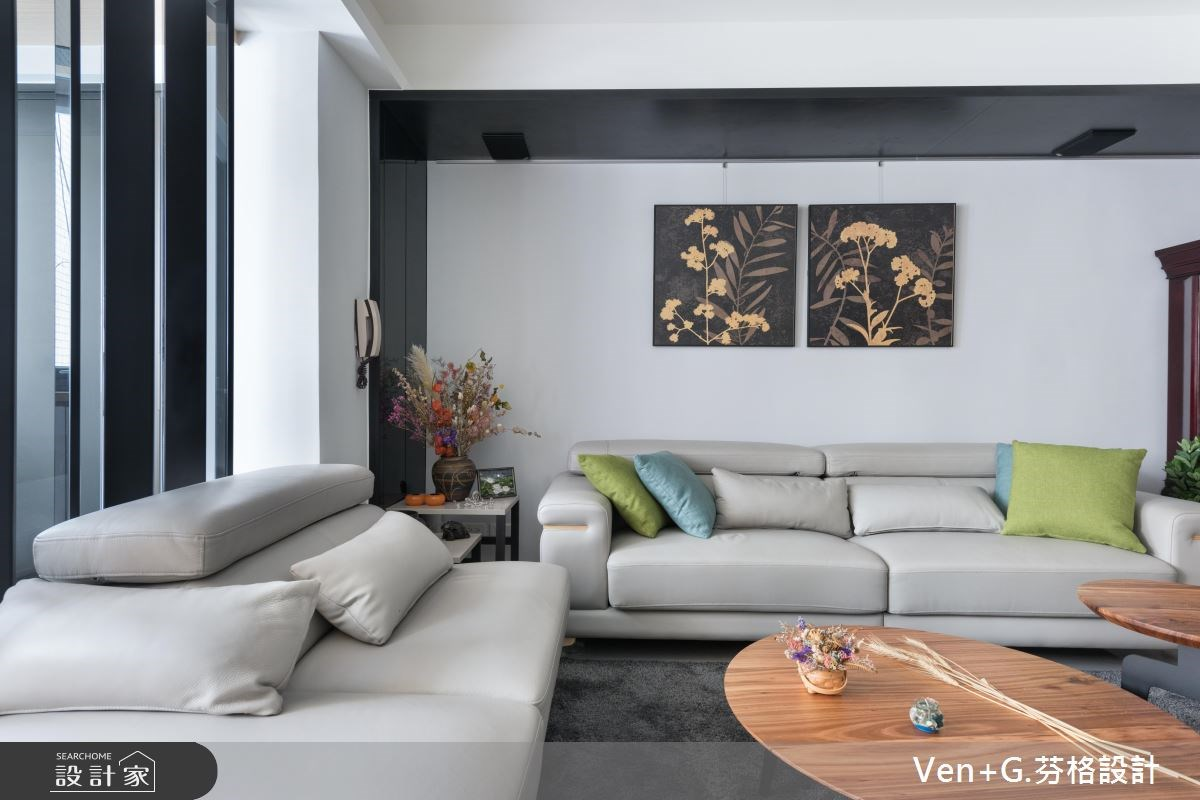 30坪老屋(16~30年)_簡約風客廳案例圖片_芬格空間設計事務所_芬格_18之5