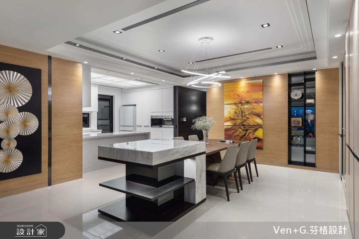 60坪新成屋(5年以下)_奢華風餐廳案例圖片_芬格空間設計事務所_芬格_21之3