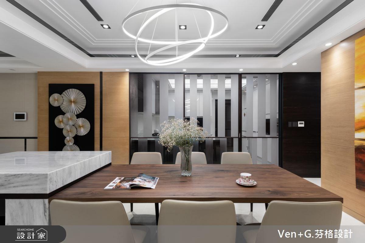 60坪新成屋(5年以下)_奢華風餐廳案例圖片_芬格空間設計事務所_芬格_21之4
