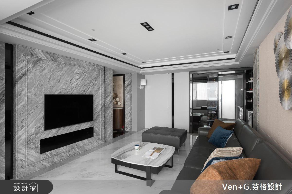 50坪老屋(16~30年)_奢華風客廳案例圖片_芬格空間設計事務所_芬格_23之4