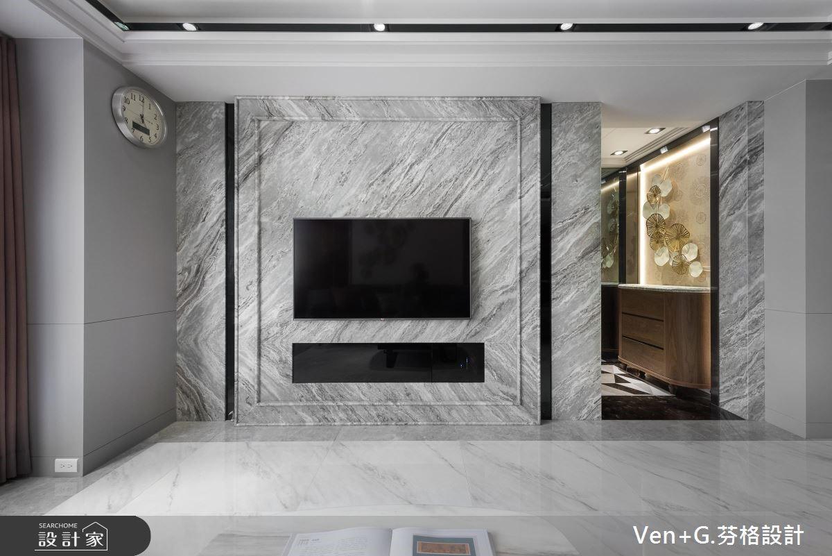 50坪老屋(16~30年)_奢華風客廳案例圖片_芬格空間設計事務所_芬格_23之2