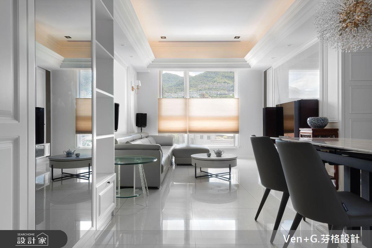 22坪新成屋(5年以下)_美式風客廳餐廳案例圖片_芬格空間設計事務所_芬格_25之4