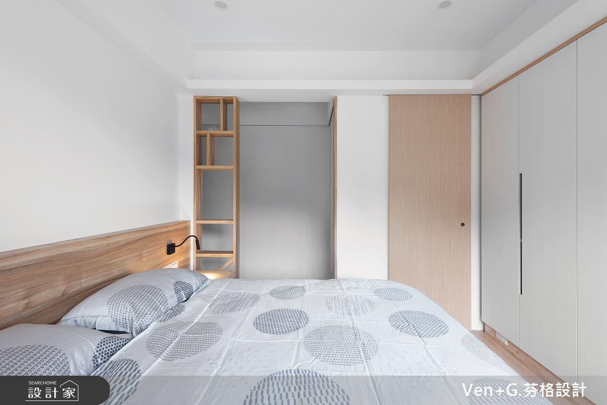23坪老屋(16~30年)_簡約風臥室案例圖片_芬格空間設計事務所_芬格_26之24