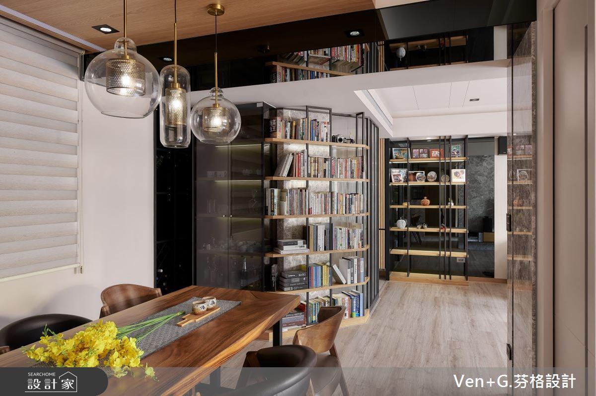 35坪中古屋(5~15年)_混搭風餐廳案例圖片_芬格空間設計事務所_芬格_27之7