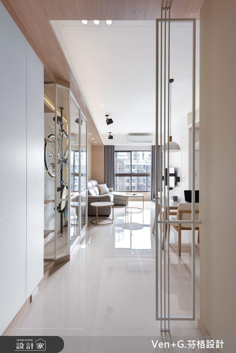 23坪新成屋(5年以下)_北歐風玄關案例圖片_芬格空間設計事務所_芬格_28之1