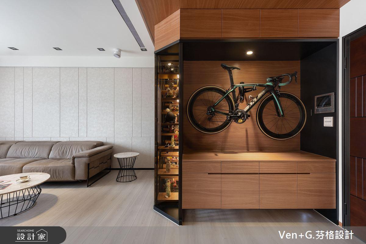 40坪新成屋(5年以下)_混搭風玄關案例圖片_芬格空間設計事務所_芬格_29之2