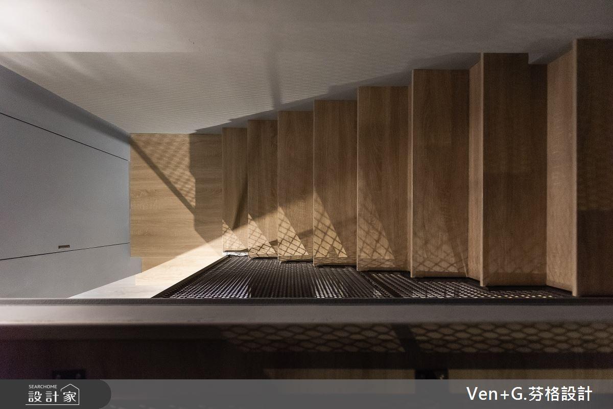45坪老屋(16~30年)_工業風樓梯案例圖片_芬格空間設計事務所_芬格_31之16